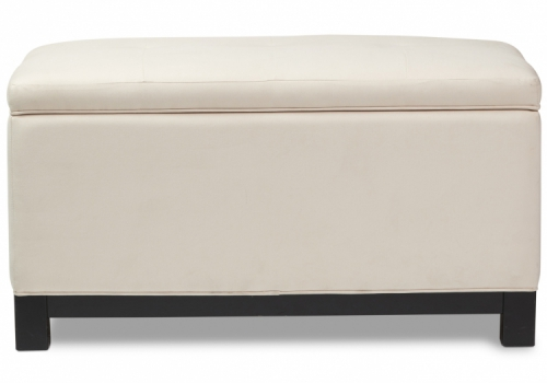 7928 Gresham House Furniture Modern tufted top Ottoman Style #7928 - front