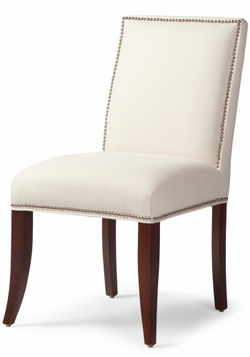 6095 studs Gresham House Furniture Dining Chair with Studs / Style #6095