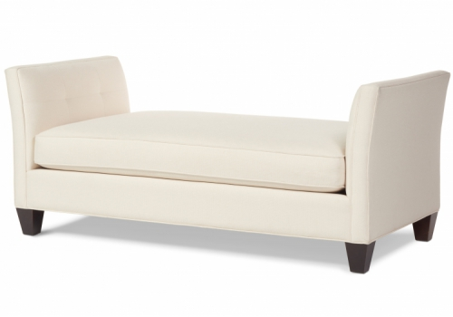 Gloria Chaise Gresham House Furniture Daybed Style #2503 - angle view