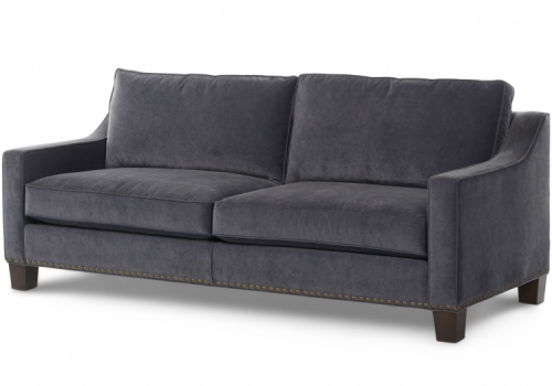 Dennis Large Sofa Gresham House Furniture Tuxedo arm sofa Style #3270s/4270d
