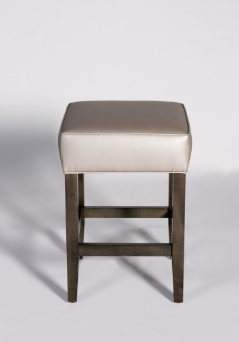 6045 Gresham House Furniture 6045 Counter Stool: box top welt (front view)