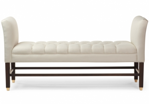 7110 Gresham House Furniture Bench Ottoman Style #7110 - front view
