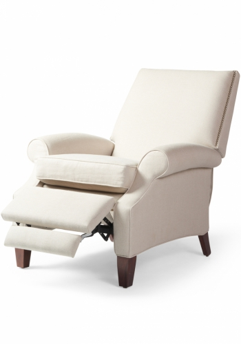 7069 Gresham House Furniture Style #7069 Recliner Chair - angle / open view