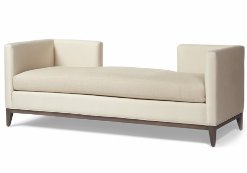 Delilah Chaise Gresham House Furniture Daybed Style #2520 - angle view