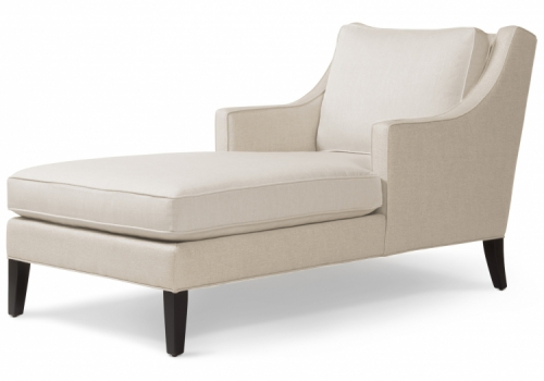 Beverly Chaise Gresham House Furniture Chaise Style #7216 - angle view