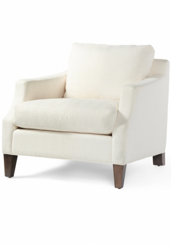 3104s or 4104d Gresham House Furniture Chair Style #3104s or 4104d Graceful Arm Detail - angle view