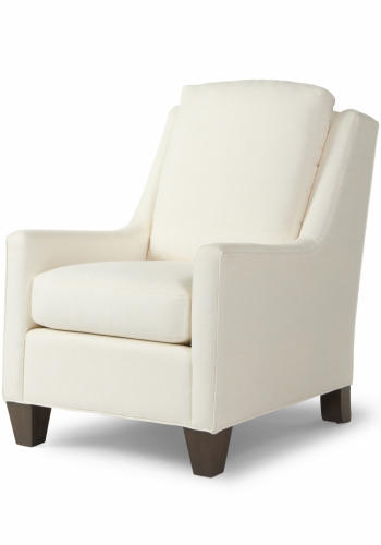 7123-24 Gresham House Furniture Chair Style #7123 Blends comfort and style.