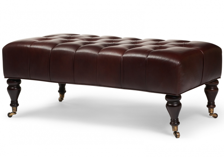 7940 Gresham House Furniture Ottoman Style #7940 - Craftsmanship shines, hand tufted top.