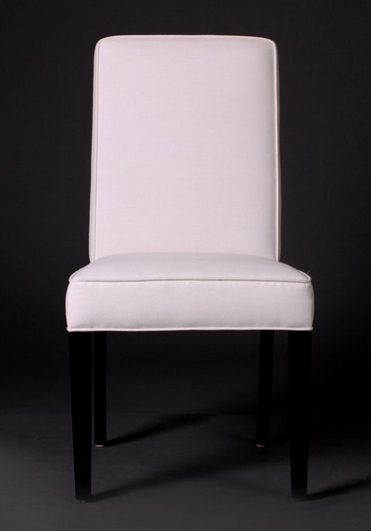 6038 Gresham House Chair Style #6038 Side is softly curved to maximise lumbar support.
