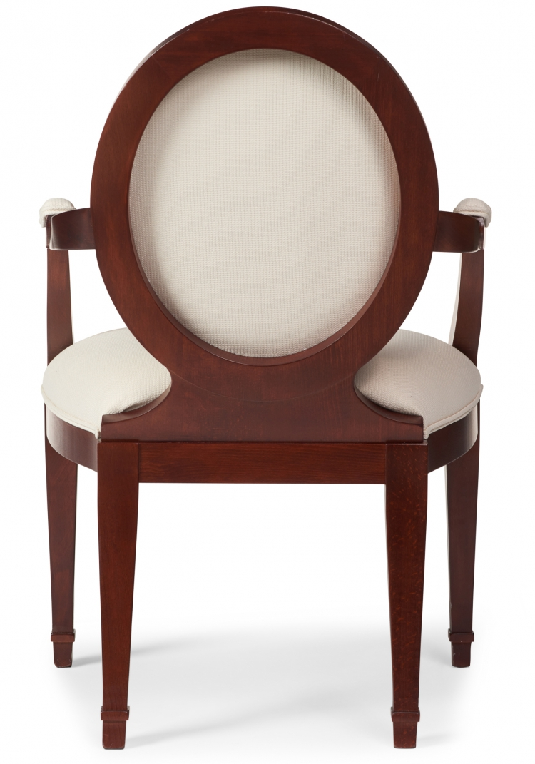 6000 Gresham House Furniture Dining Chair Style #6000 - back view