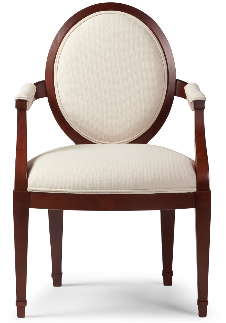 6000 Gresham House Furniture Dining Chair Style #6000 - front view