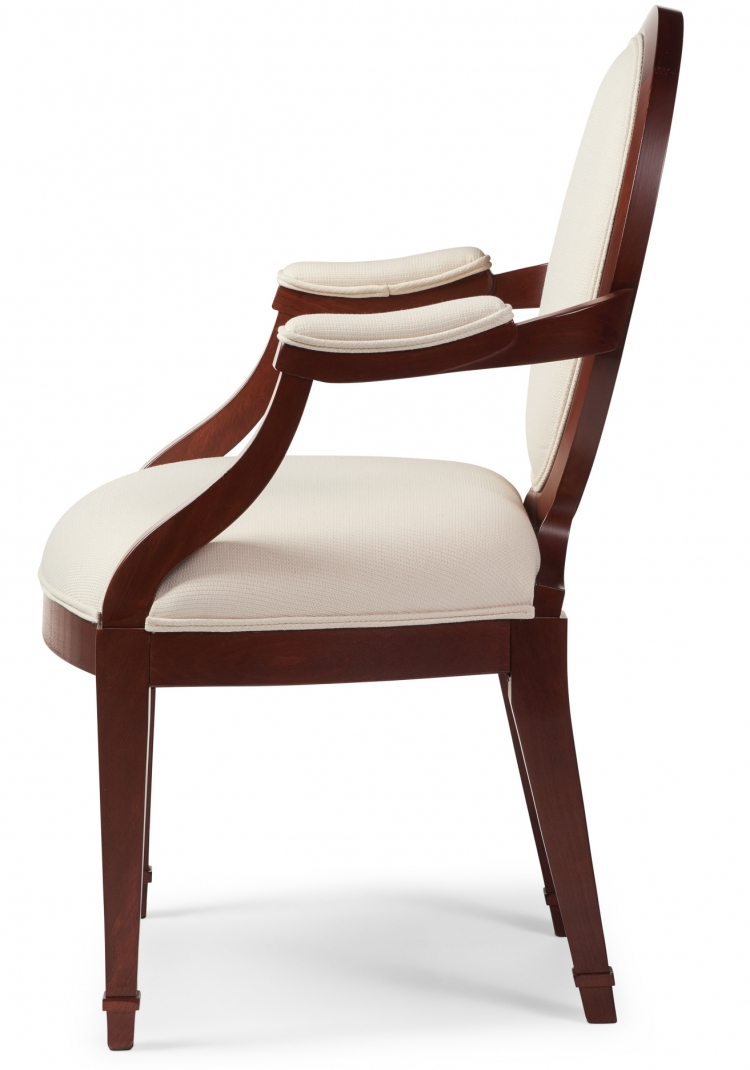6000 Gresham House Furniture Dining Chair Style #6000 - side view