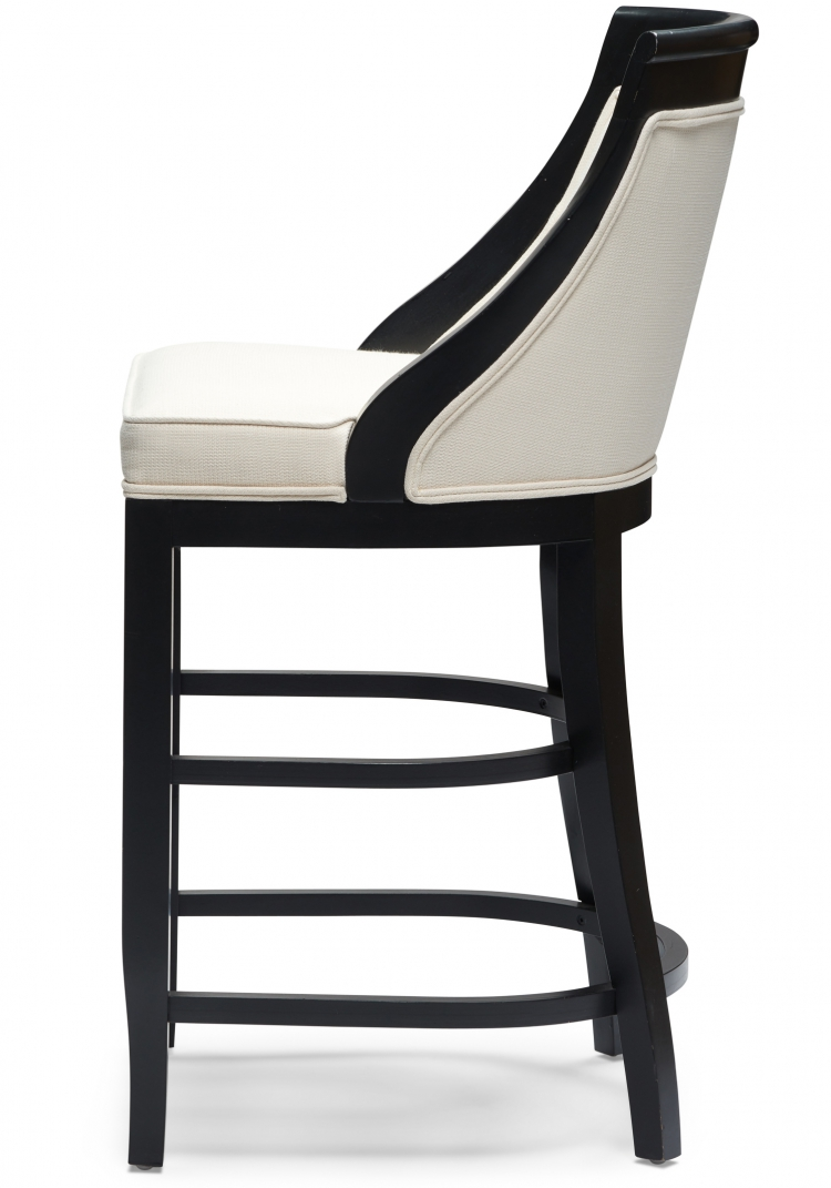 6032 Gresham House Furniture Style #6032 Bar & Counter Stool - Side View