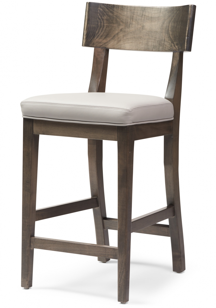 6037 counter stool Gresham House Furniture Style #6037 Bar & Counter Stool - Angle View