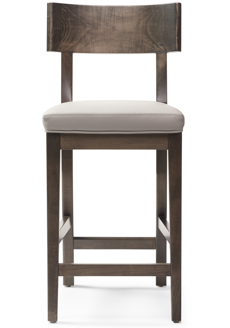 6037 counter stool Gresham House Furniture Style #6037 Bar & Counter Stool - Front View