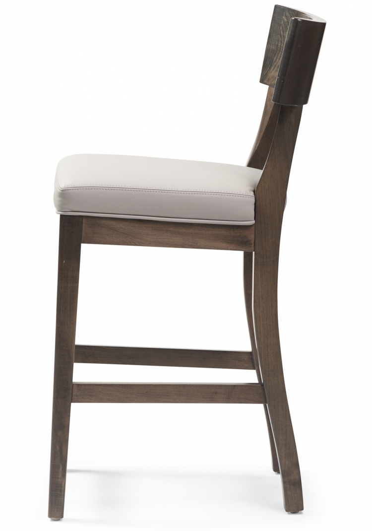 6037 counter stool Gresham House Furniture Style #6037 Bar & Counter Stool - Side View