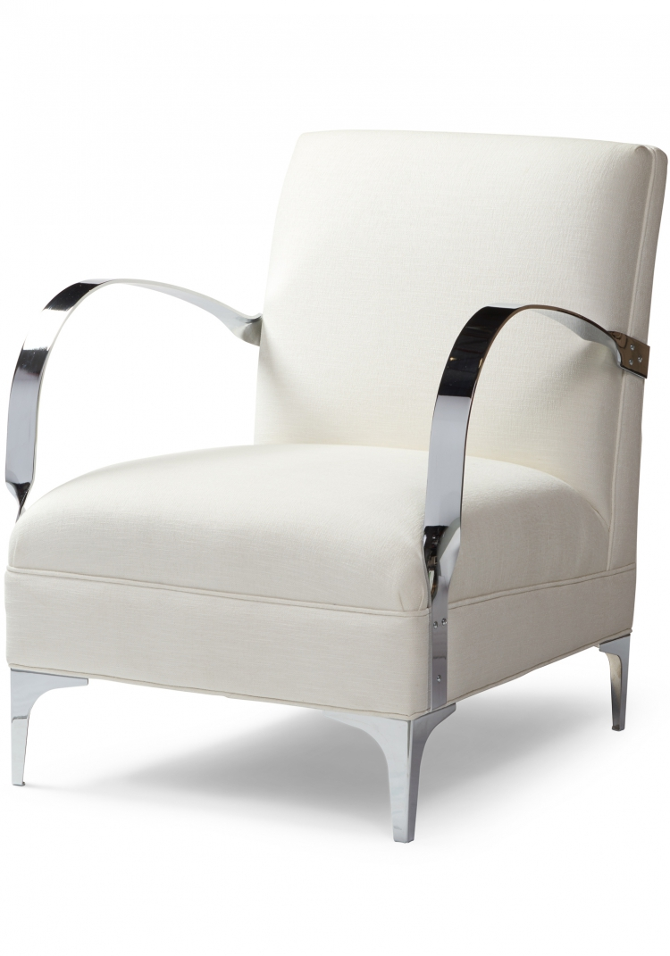 7116 Gresham House Furniture Style #7116 Chair Crisp architectural form - angle view