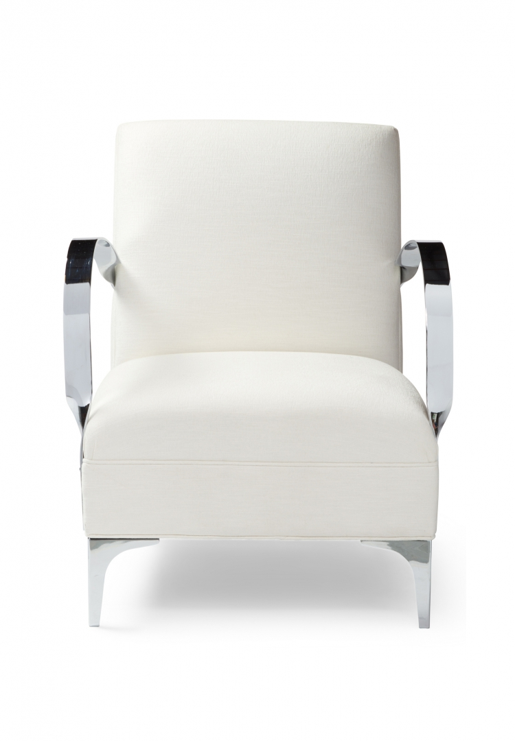 7116 Gresham House Furniture Style #7116 Chair Crisp architectural form - front view