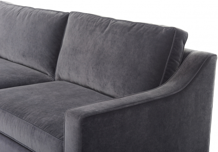 3270s or 4270d Gresham House Furniture Tuxedo arm sofa Style #3270s/4270d - detail