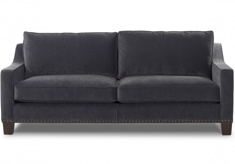 3270s or 4270d Gresham House Furniture Tuxedo arm sofa Style #3270s/4270d - front