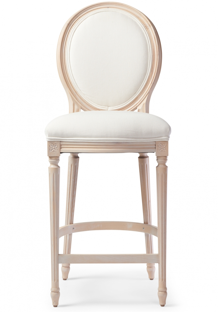 6202 Gresham House Furniture Style #6202 Bar & Counter Stool - front view
