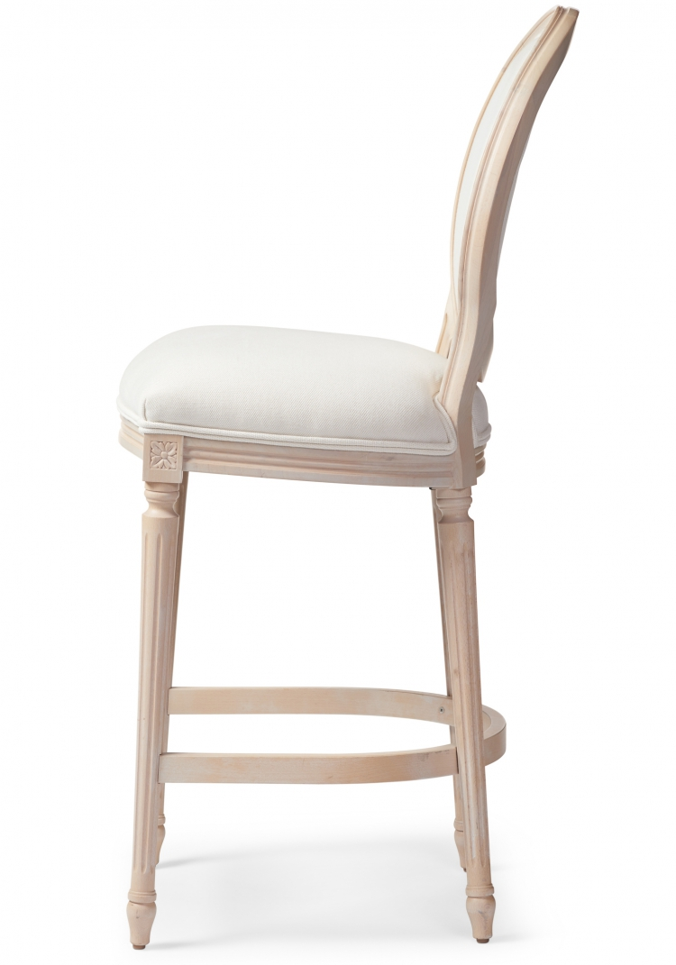6202 Gresham House Furniture Style #6202 Bar & Counter Stool - side view