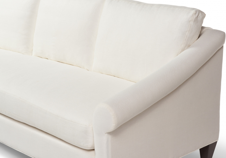 3411s or 4411d Gresham House Furniture classic rolled arm sofa Style #3411 - detail