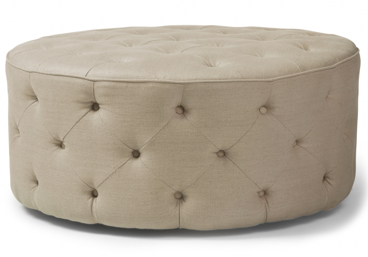 Martin 7102 Gresham House Furniture Ottoman Style #7102 Hand-tufted, our craftsmanship shines.