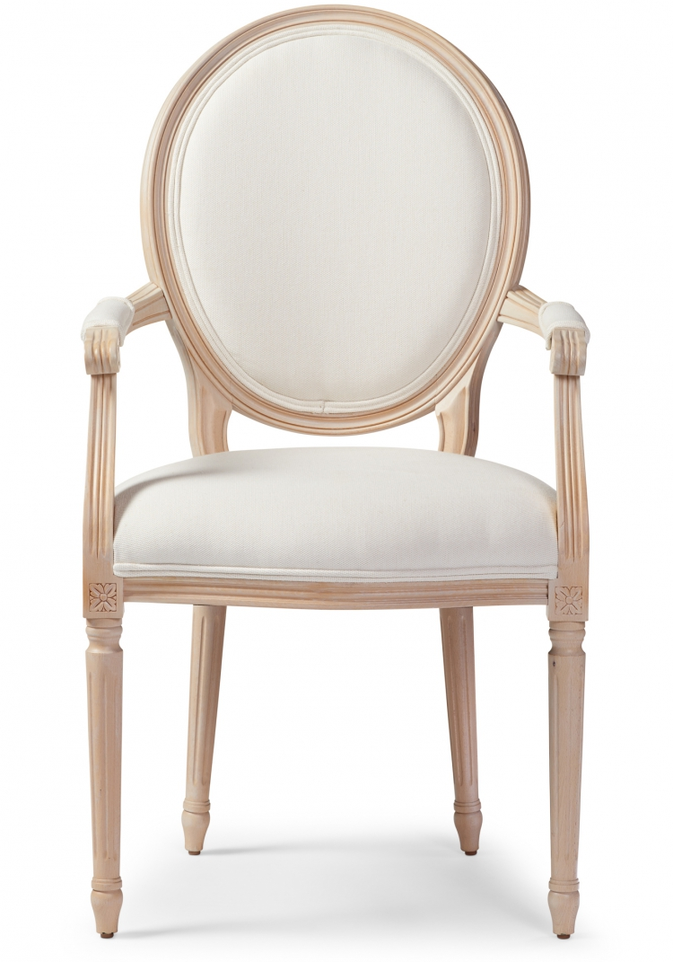 6200 Gresham House Furniture Dining Chair Style #6200 Classically styled arm front