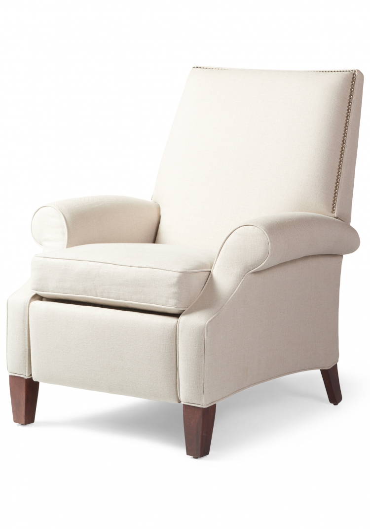 7069 Gresham House Furniture Style #7069 Recliner Chair - angle view