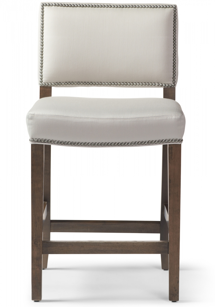 Millie #6196 Counter Stool Gresham House Furniture Style #6196 Bar Stool - front view