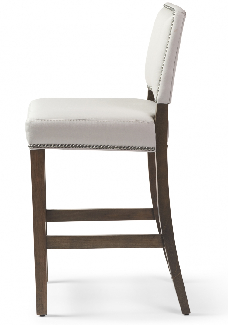 Millie #6196 Counter Stool Gresham House Furniture Style #6196 Bar Stool - side view