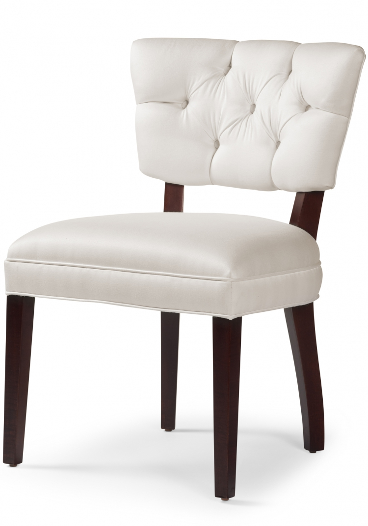6119 Gresham House Furniture Dining Chair Style #6119 Hand-tufted dining chair offers beauty and support