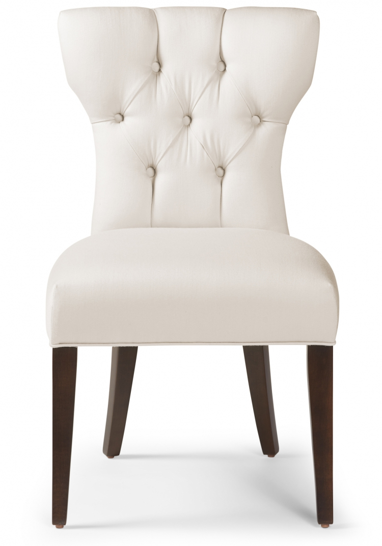 6274 Gresham House Furniture diamond tufted dining chair Style #6274 - front