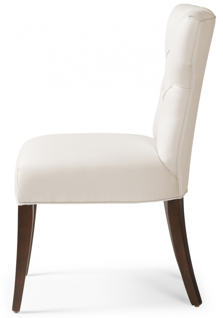 6274 Gresham House Furniture diamond tufted dining chair Style #6274 - side