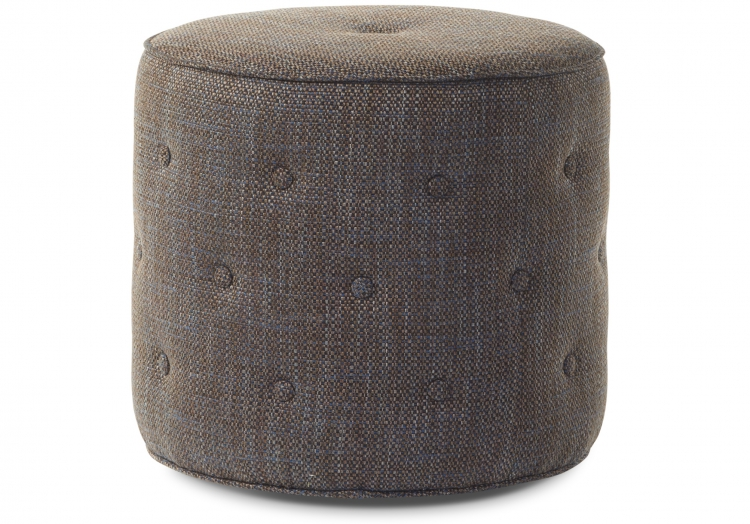 8010 Gresham House Furniture Ottoman #8010 Recessed castors come standard with this ottoman.